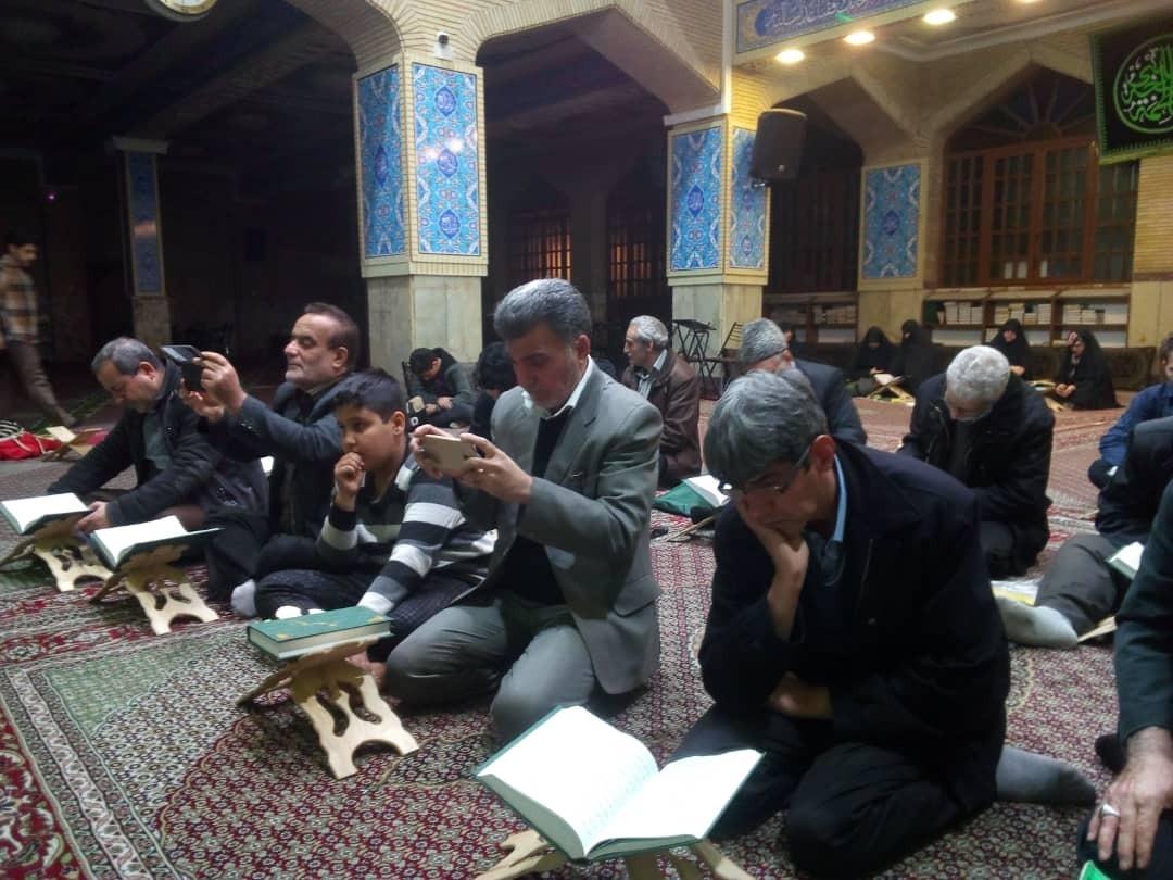 هفتمین دوره مسابقات حفظ قرآن کریم در مسجد هدایت برگزار شد